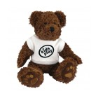 10 inch Charlie Bear and T Shirt