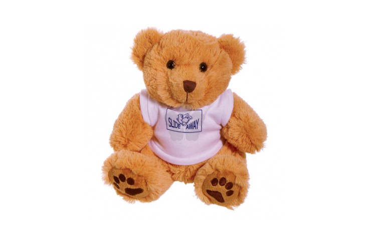 10 inch Dexter Bear with White T Shirt