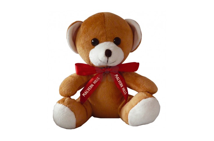 10 inch Jay Jay Bear with Neck Bow