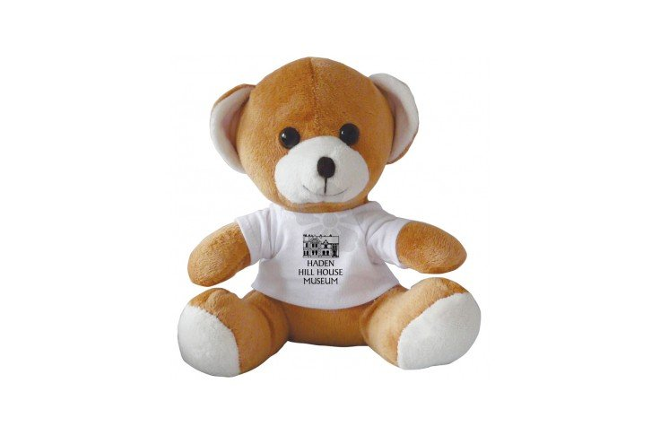 10 inch Jay Jay Bear with White T Shirt