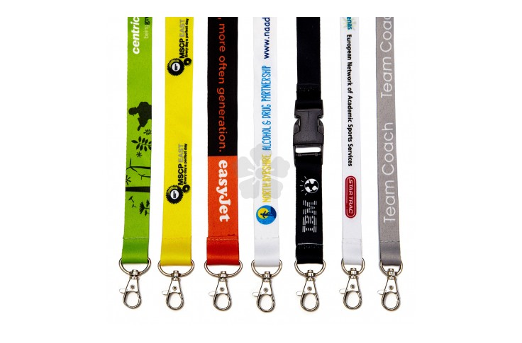 20mm Dye Sublimation Lanyard