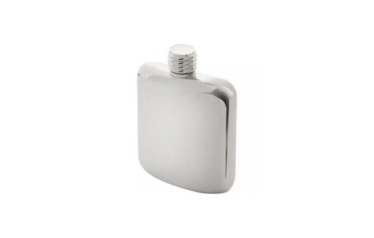 4oz Silver Plated Flask