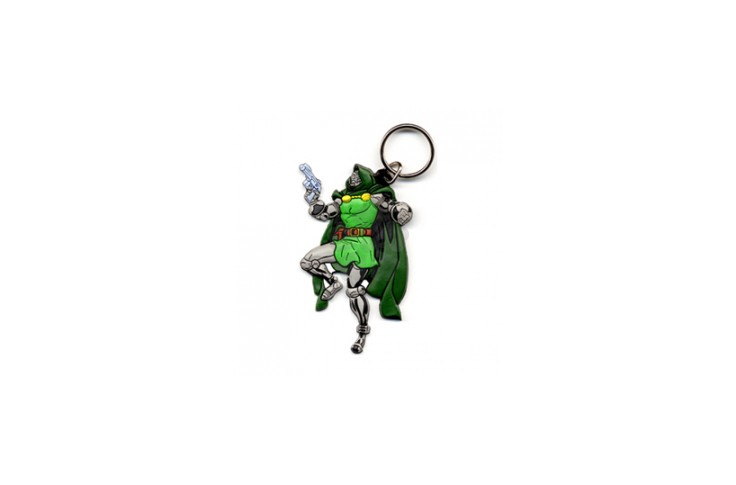 50mm Soft PVC 3D Keychain