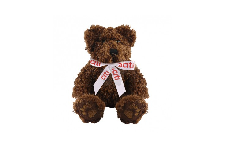 5 inch Charlie Bear and Bow