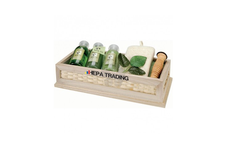5 Piece Green Tea Bath Set