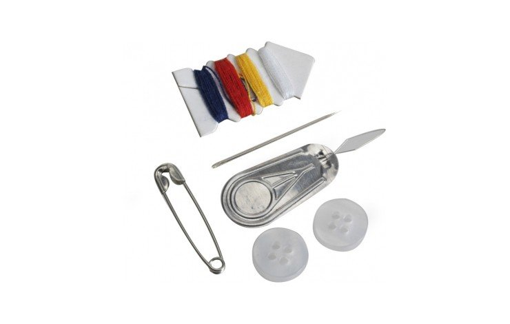 5 Piece Sewing Set and Mirror