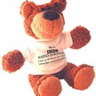 "8"" Buster Bear with T Shirt"