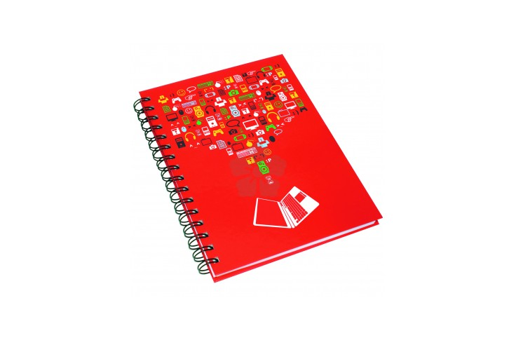 A4 Hard Cover Wirobound Pad
