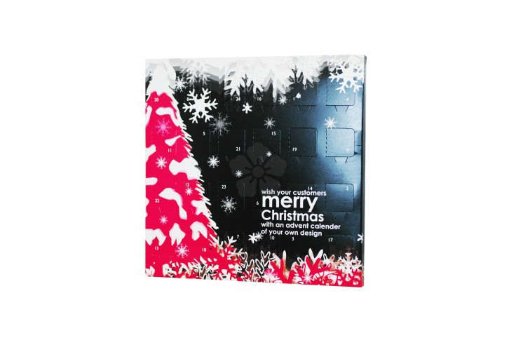 promotional advent calendar personalised by mojo promotions. Black Bedroom Furniture Sets. Home Design Ideas