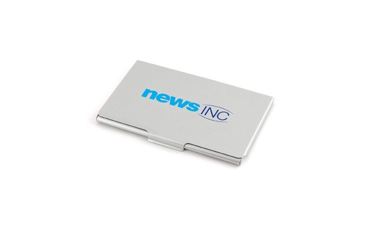 Aluminium Card Case