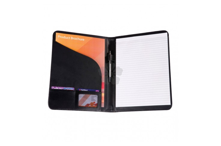 Balmoral Bonded Leather Folder