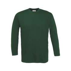 B&C Men's Exact 150 Long Sleeve T Shirt