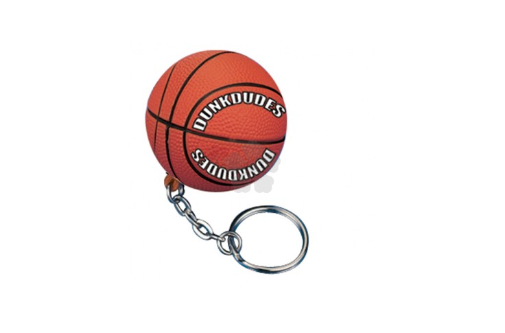 Basketball Stress Keyring