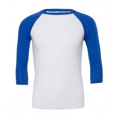 Bella and Canvas 3/4 Sleeve Baseball T-Shirt