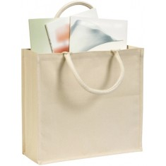 Broomfield Laminated Cotton Canvas Tote