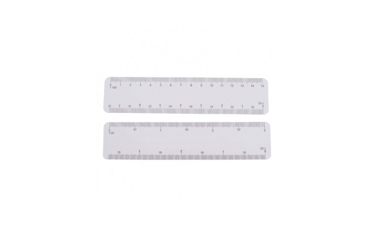 Budget 6 inch/150mm Scale Ruler