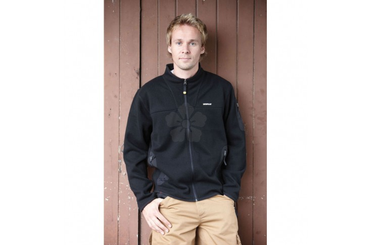 Caterpillar Full Zip Sweater Fleece Jacket