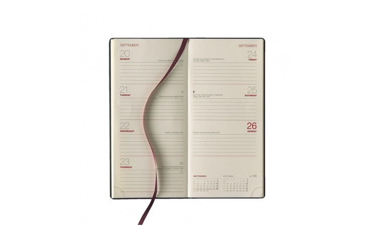 Crosta Milano Leather Pocket Diary