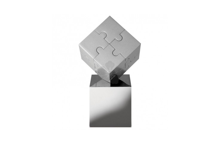 Cube Puzzle Paperweight