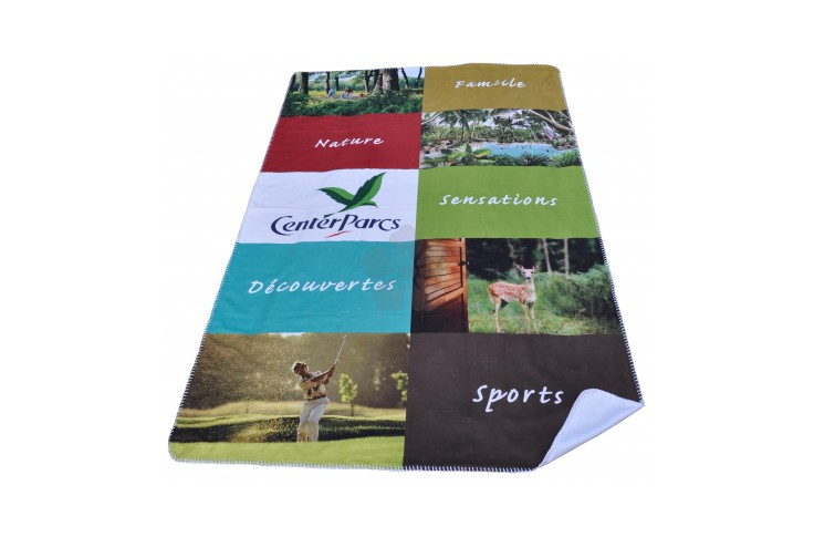 Digitally Printed Fleece Blanket