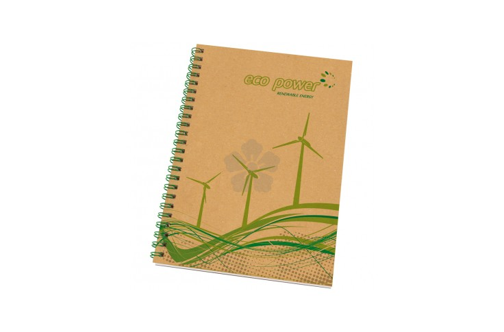 Enviro-Smart A5 Card Cover Wiro Notepad