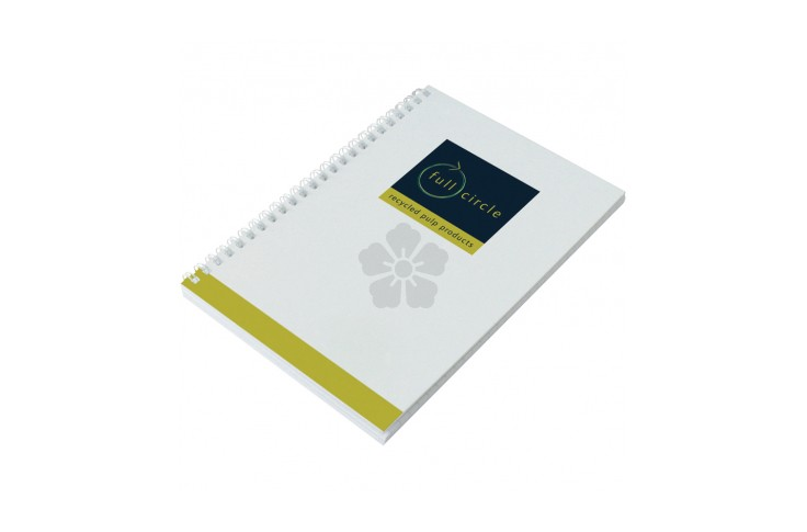 Enviro-Smart White Cover Notepad A5