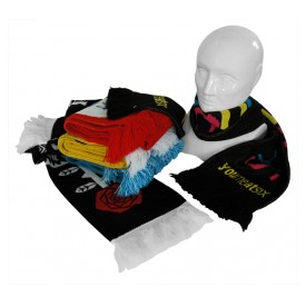 promotional football scarf personalised by mojo promotions