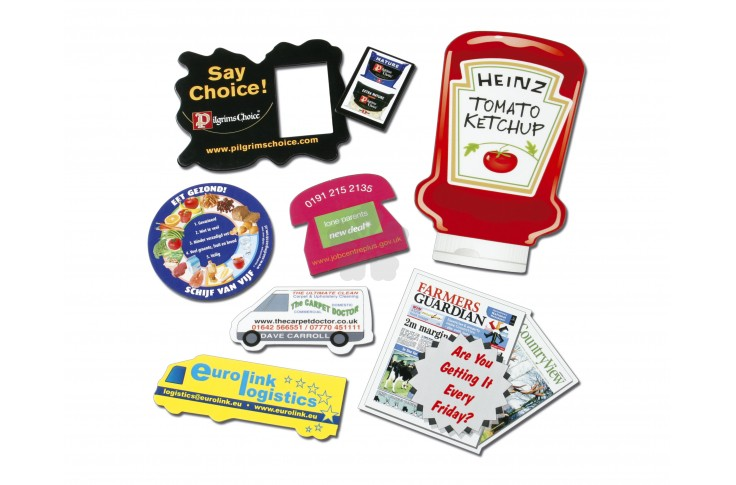 Promotional fridge magnets personalised by mojo promotions for Personalized ref magnet giveaways