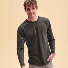 Fruit of The Loom Long Sleeve Valueweight T-Shirt