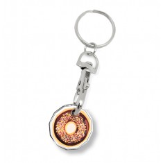 Full Colour Trolley Coin Keyring