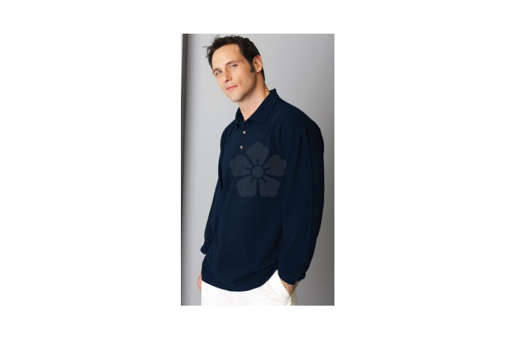 Gildan Ultra Cotton Long Sleeve Pique Polo