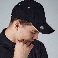 Golf Cap With Pro Style Ball Marker