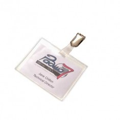 Hanging Clip Badge