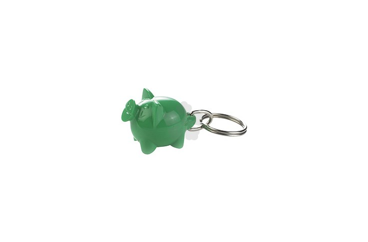 Happy Piggy Keyring