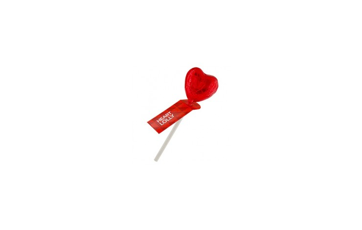 Heart Lolly Stick