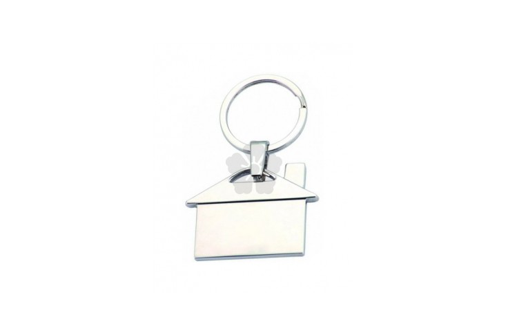 Premium House Shaped Keyring