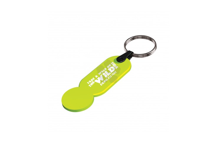 Keep-It Trolley Coin Keyring