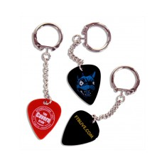 Keyring Guitar Plectrum