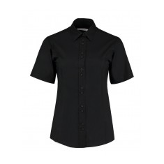 Kustom Kit Ladies' City Short Sleeve Business Shirt