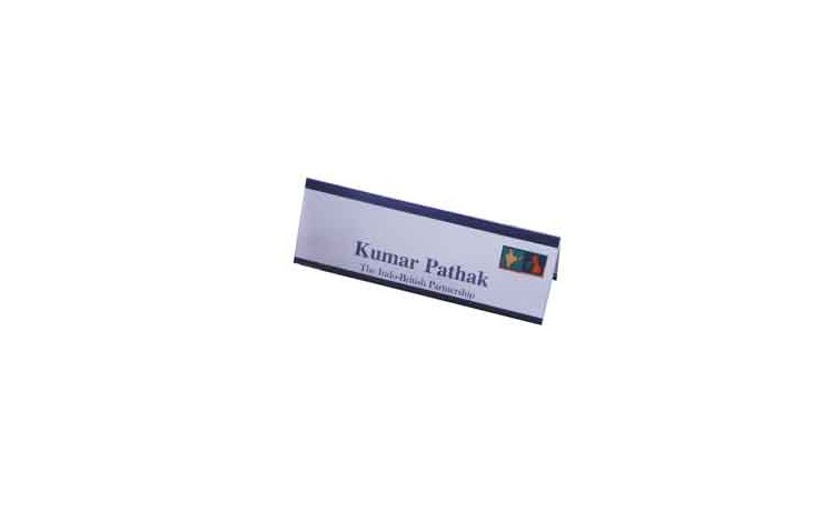 Large Desk Name Plate