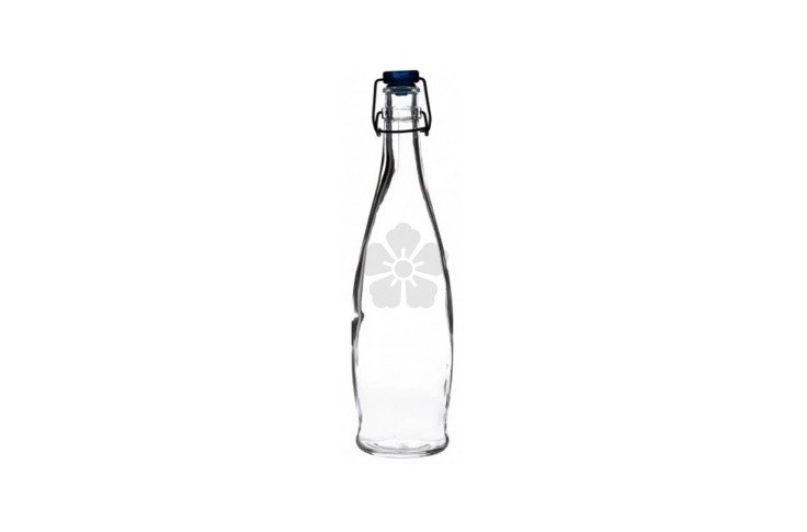 Curved Large Swing Top Bottle - 1 Litre