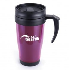 Translucent Plastic Travel Mug