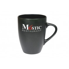 Matt Black Marrow Mug