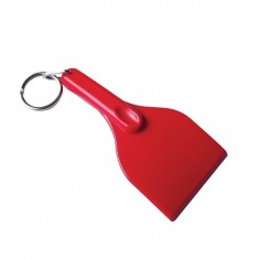 Mini Curved Ice Scraper Keyring