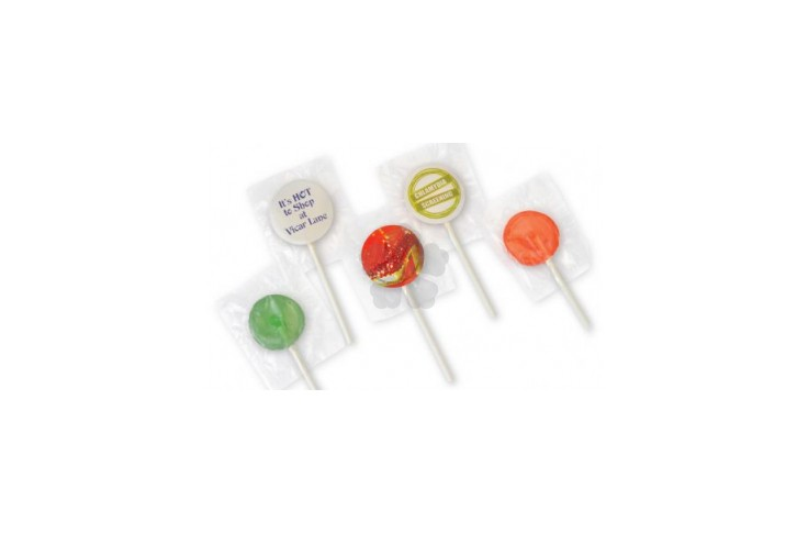 Mini Lollies with Labels