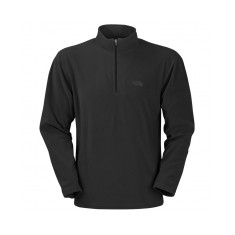 North Face 100 Glacier Quarter Zip Microfleece