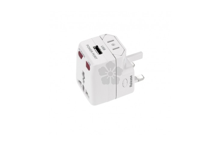 One World USB Travel Adapter