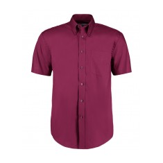 Kustom Kit Men's Short Sleeve Corporate Oxford Shirt