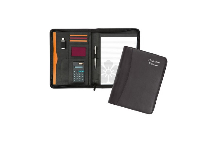 Pembury Zipped Calculator Conference Folder