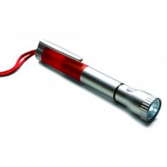 Plastic ballpen with LED torch